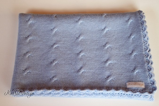 Machine Knitting Pattern For Baby Blanket