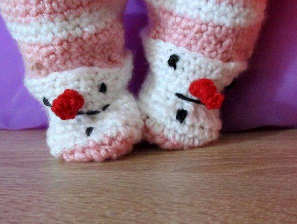Häkelanleitung Schneeanzug für Babypuppe