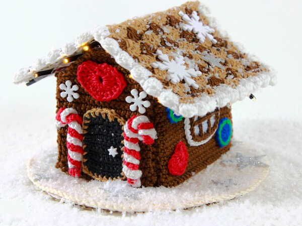 Gingerbreadhouse - crochet patterns