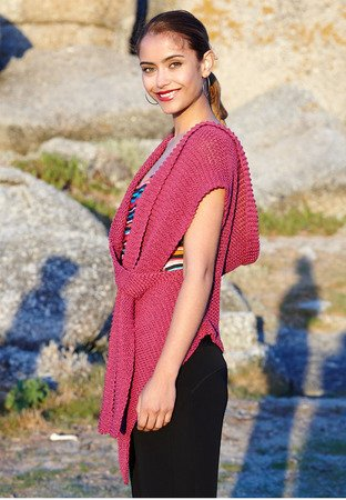 Strickanleitung Top / Schal Ruth Bell
