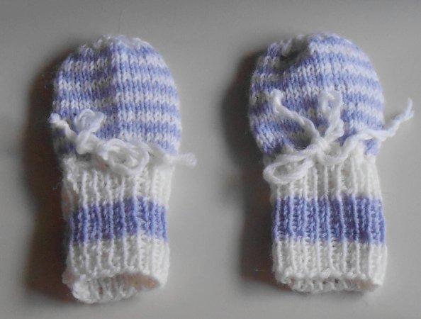 Schöne Strickanleitungen für schöne babyhandschuhe 0 3 monate