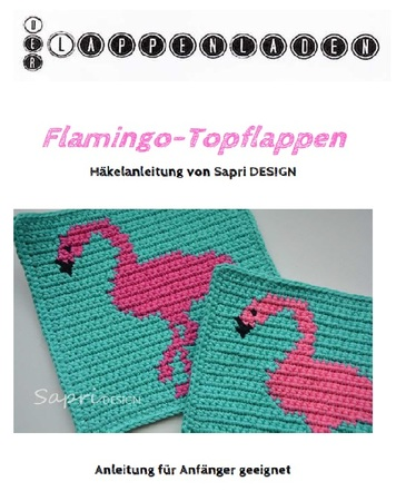 E Book Häkelanleitung Flamingo Topflappen Inkl Häkel Grundkurs