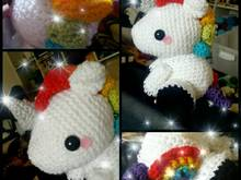 Unicorn Rainbow pattern
