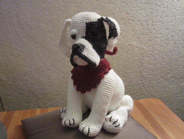 Boxer Häkeln Hund Häkeln 45 Cm Groß
