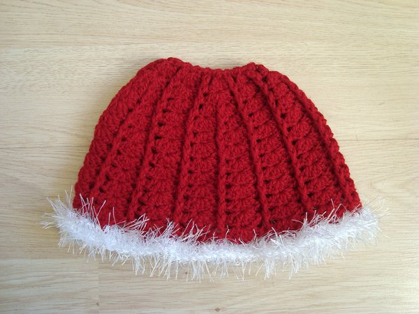 Christmas Messy bun hat Ponytail beanie for girls and women Running toque  Winter cap with hair hole 06243f0da22