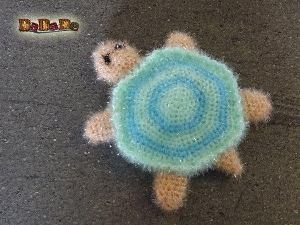 Schwamm Große Schildkröte Für Bad Und Küche Gehäkelt Von Dadade