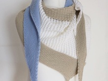 "Knitting pattern Shawl ""Andana"""