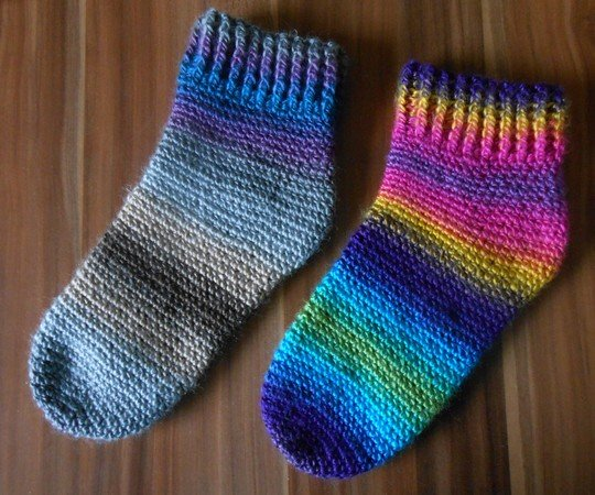Socken Häkeln Super Für Den Winter