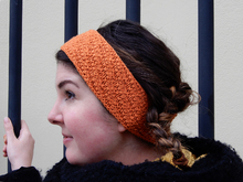 "Textured headband knitting pattern ""Sunn"""