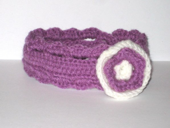 Baby headband crochet pattern purple baby headband crochet pattern dt1010fo