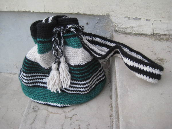 Boho bag crochet pattern