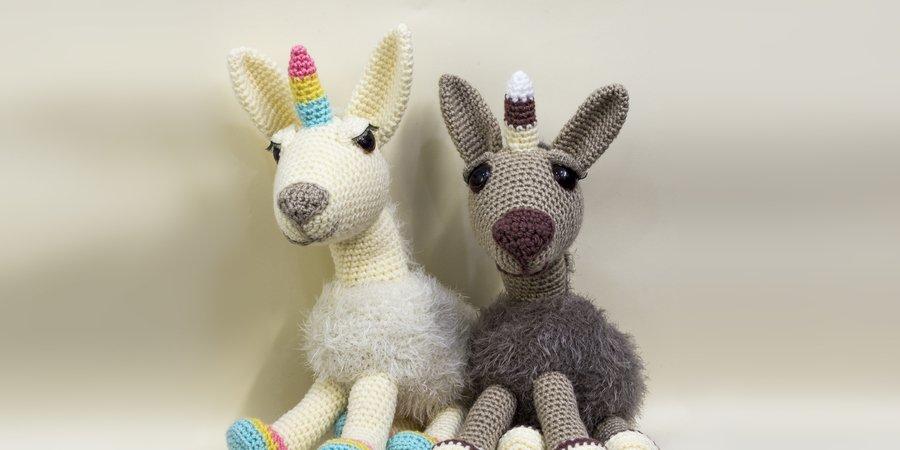Amigurumi häkeln // Lama + Unicorn = Lamacorn