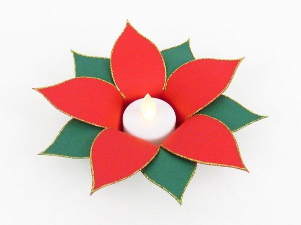 Teelichthalter Bastelnweihnachtsstern Diy