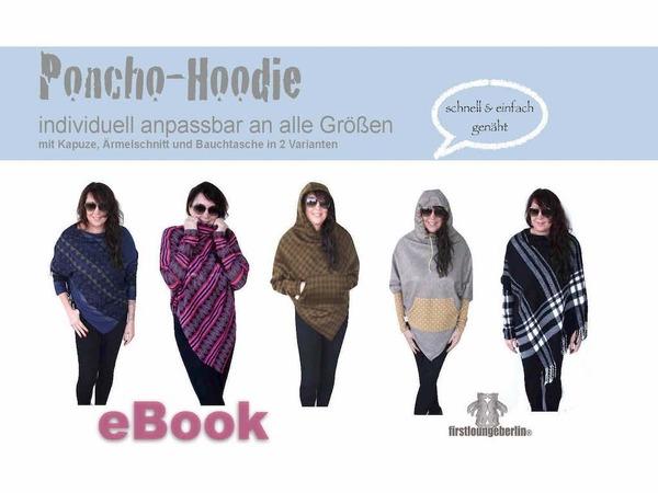 Poncho nähen // Hoodie nähen // Cape // PDF