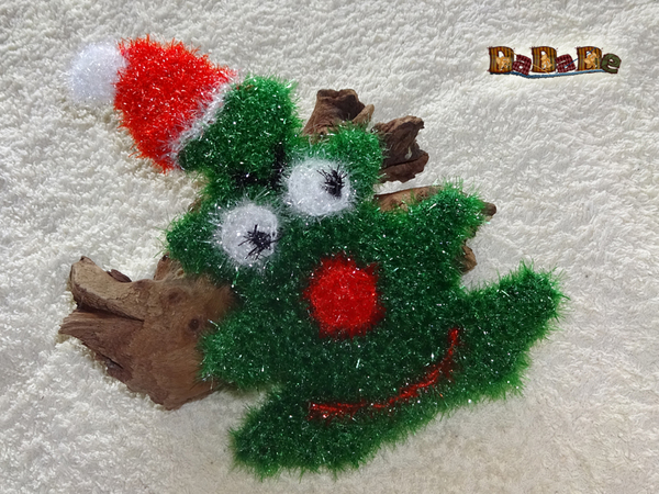 Küchenschwamm Weihnachten Tannenbaum Gehäkelt Von Dadade