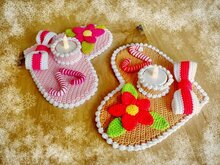 Christmas Heart - Crochet Pattern from Diana´s kleiner Häkelshop