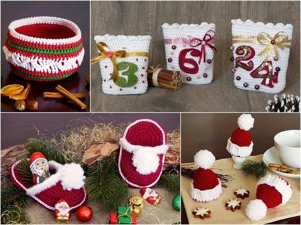 Spar Set Kleine Geschenke Im Advent 4 Häkelanleitungen