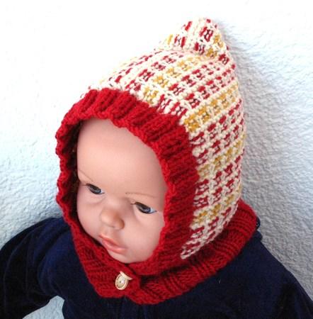 Strickanleitung Mütze Mit Schalkragen Für Babys Und Kinder