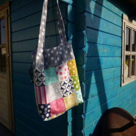 patchwork tasche shophopper. Black Bedroom Furniture Sets. Home Design Ideas