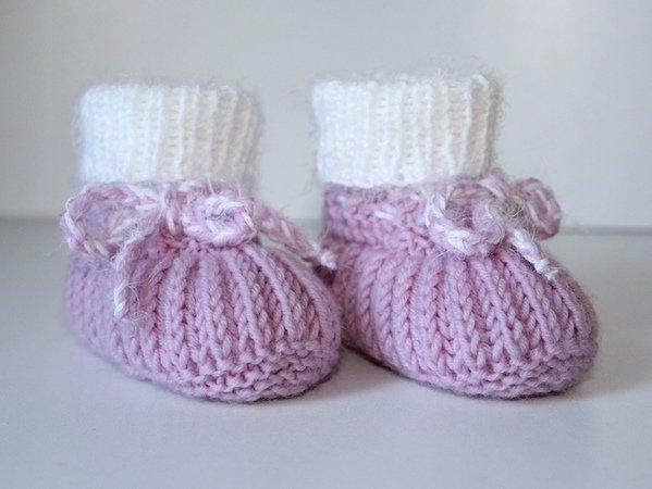 baby schuhe stricken baby booties stricken. Black Bedroom Furniture Sets. Home Design Ideas