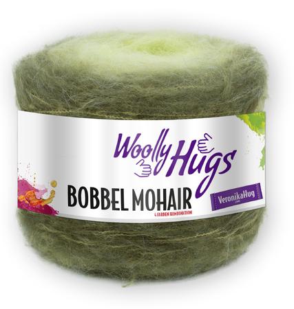 Schal häkeln / Möbius-Schal mit Bobbel häkeln