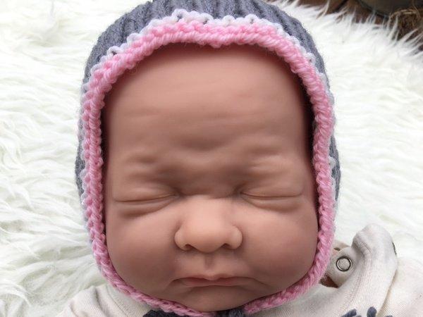 Strick Anleitung Baby Pixie Mütze Im Trachten Stil Für Alle Größen