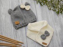 Knitting Pattern - Cuddly Bear Baby Set - No.93SE