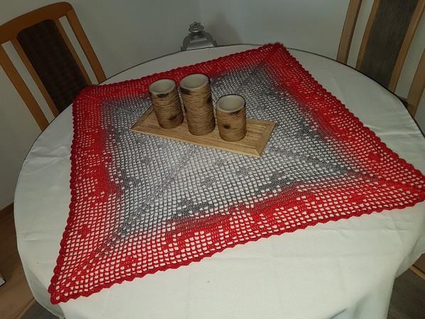Tischdecke Häkeln Mitteldecke Tischläufer