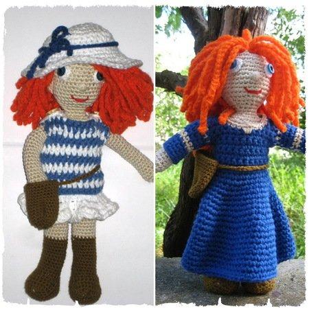 Amigurumi Doll Free Pattern – 2019 | Crochet dolls free patterns ... | 450x450