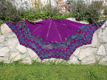 Hesperos-starshaped shawl (knitting)