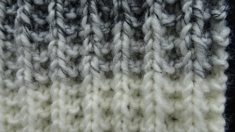 Strickanleitung Für Einen Schal Im Patentmuster