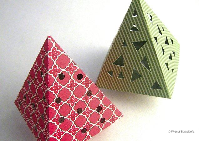 leuchtb umchen geschenkbox mit vorlage zum ausdrucken auf scrapbooking oder tonpapier. Black Bedroom Furniture Sets. Home Design Ideas