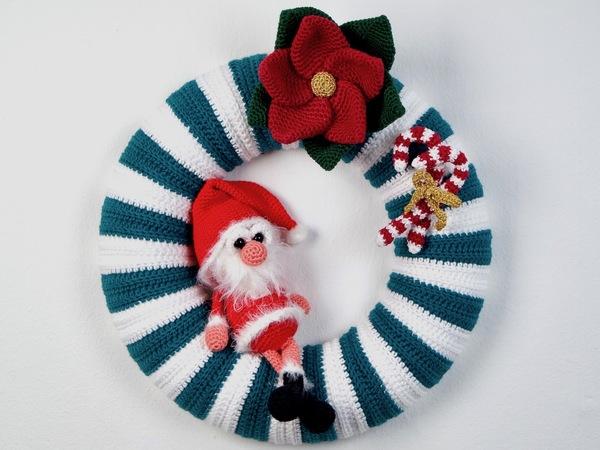 Türkranz Häkeln Weihnachtsdeko Häkeln