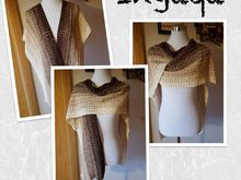 "Crochet Shawl Poncho ""Inguqu"" - for beginners"