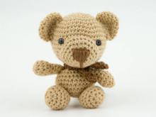 Amigurumi Doll Teddy Bear Crochet Pattern Knitting