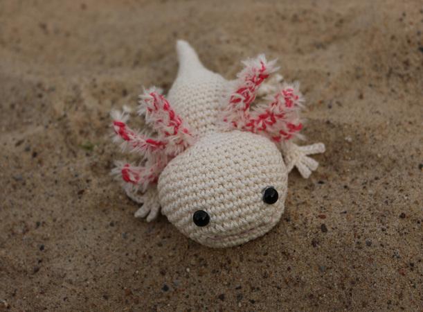 Axolotl, Häkelanleitung