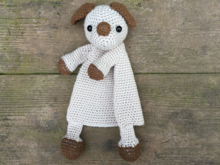 Amigirumi Doll Puppy Lovey Security Blanket Crochet Pattern
