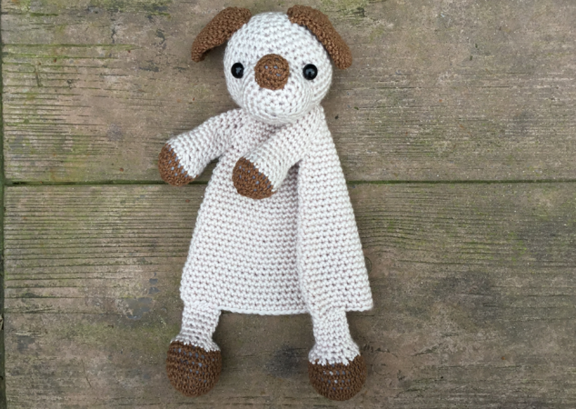 Amigurumi Doll Teddy Bear Security Blanket Crochet Pattern Knitted ... | 450x634