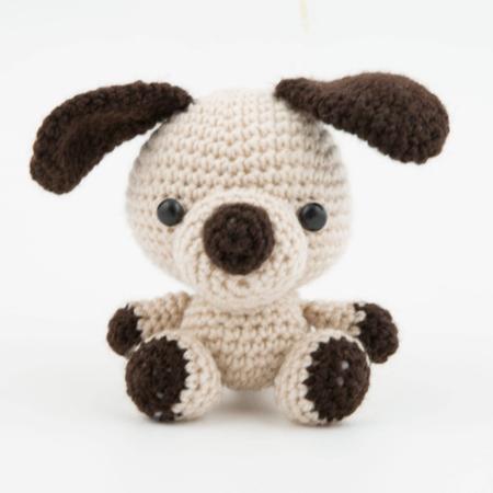 164 Crochet Pattern - Jiggers the dog - Amigurumi soft toy PDF ...   450x450