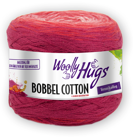 "Loop ""STERNENSTAUB"" gehäkelt mit 1 Woolly Hugs BOBBEL-COTTON"