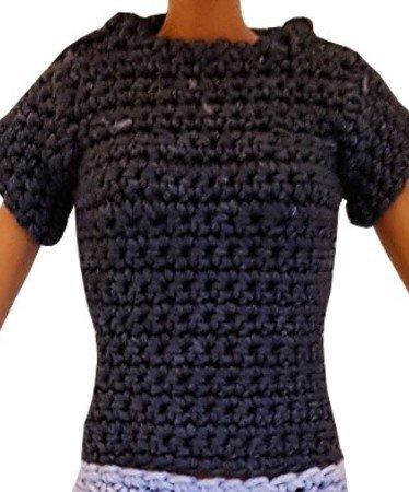 T-Shirt für Modepuppe häkeln