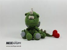 Crochet Pattern: Dragon Dino Valentin