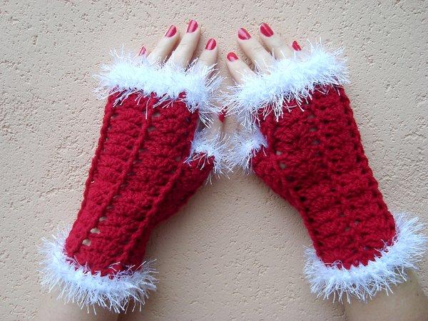 Weihnachten Armstulpen