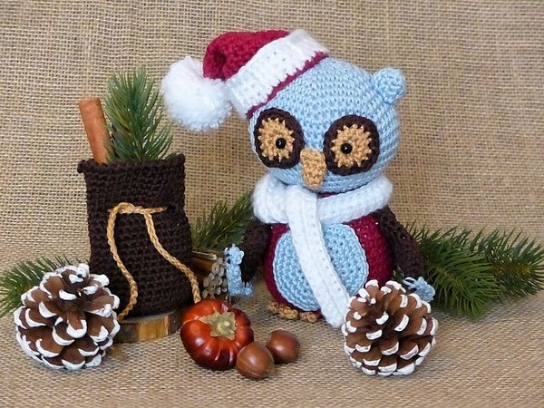 Owl Amigurumi Pattern Cutest Crochet Ideas Video Tutorial | 450x600