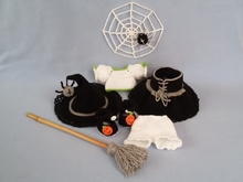 Clothes for Hermine the little witch