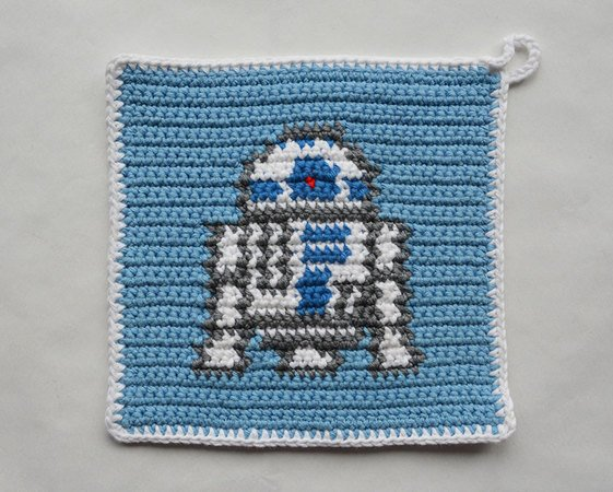 Star Wars CROCHET PATTERNS characters BB8 and R2D2 | Etsy | 450x561