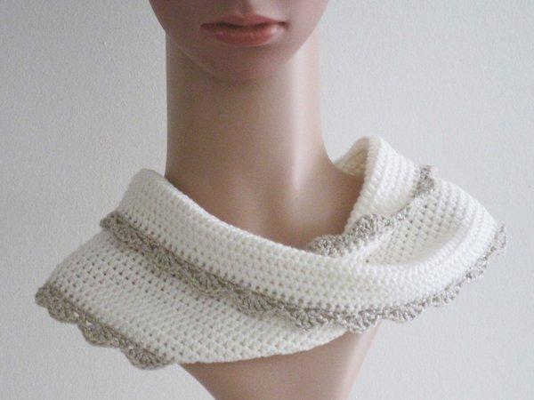 Häkelanleitung: Mädchen Damen Mütze mit Häkelblume + Möbiusschal (S ...