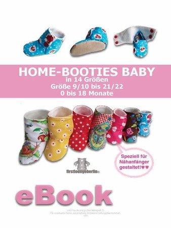 separation shoes 46666 17030 Home-Booties BABY Hausschuhe in 14 Größen E-Book Nähanleitung 0 bis 18  Monate Nähanleitung & Schnittmuster von firstloungeberlin
