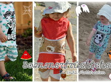 Kombi E-Book Bundle Sommerfrüchtchen Babyschnitte melon jumper pineapple shirt coconut pants 50-92