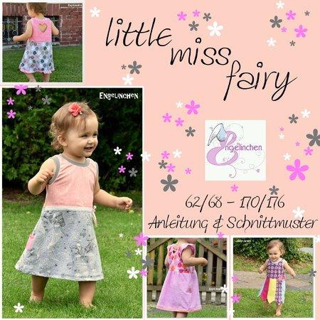 E-Book Schnittmuster Kleid little miss fairy 62-176
